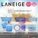 Laneige Water Sleeping Mask And Tone Up