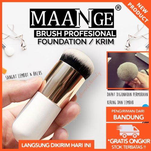 MAANGE Brush Makeup Profesional Single Elegan & Lembut