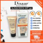 Disaar Sunscreen SPF50 UVA UVB + Foundation