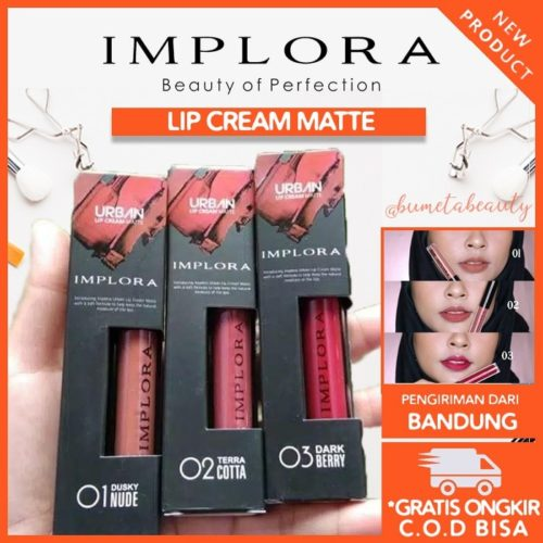 Implora Lip Cream Matte Urban