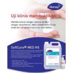 Hand Sanitizer Diversey Gel Ukuran 30mL