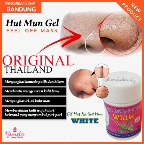 Hut Mun Gel White Asli & Original Thailand