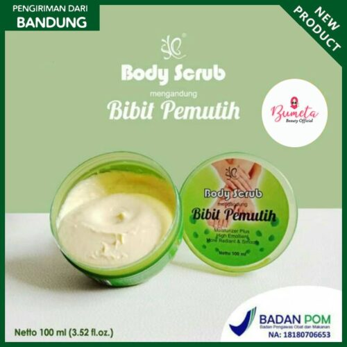 SYB Body Scrub Bibit Pemutih