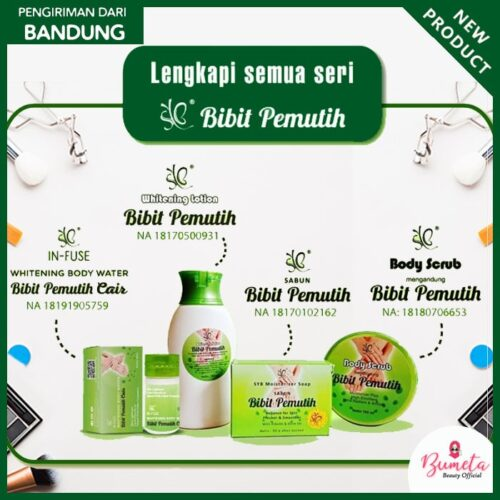 Paket Bibit Pemutih SYB Super Whitening Complete 4 In 1